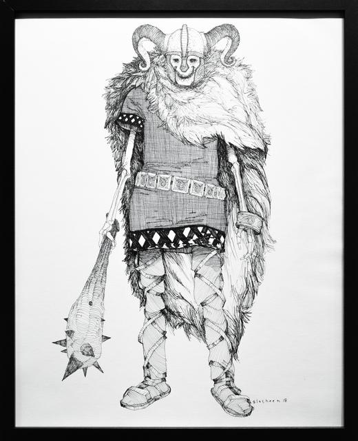, 'Dead King 17 [10th Century Norwegian Lord],' 2018, Paradigm Gallery + Studio
