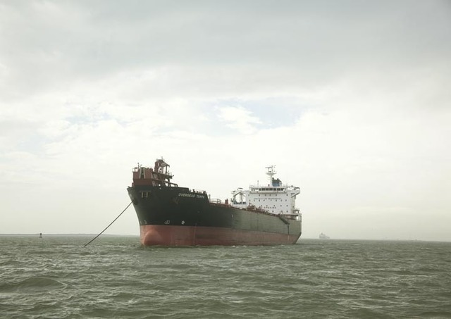 , 'Untitled (Oil Chemical Tanker, Overseas Tampa, USA), Houston Ship Channel, Texas, 2015,' , Yancey Richardson Gallery