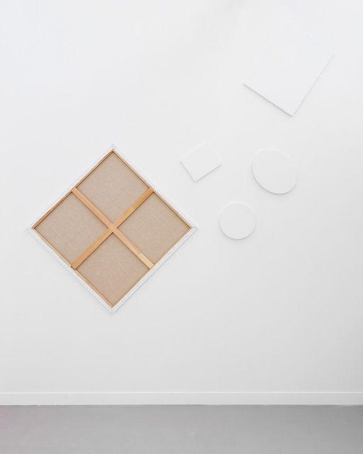 "Claude Rutault, 'de-finition/method copies/doubles / dé-finition/méthode ""copies/doubles""', 1991, Painting, Paint on canvas, Perrotin"