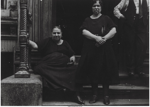 Ben Shahn, 'Untitled (Two women on a stoop)', 1933, Heritage Auctions