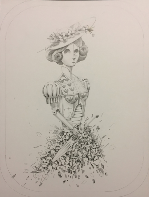 , 'The Woman,' 2018, Treason Gallery
