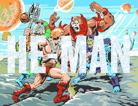 Trey Speegle, 'He-Man', ArtStar