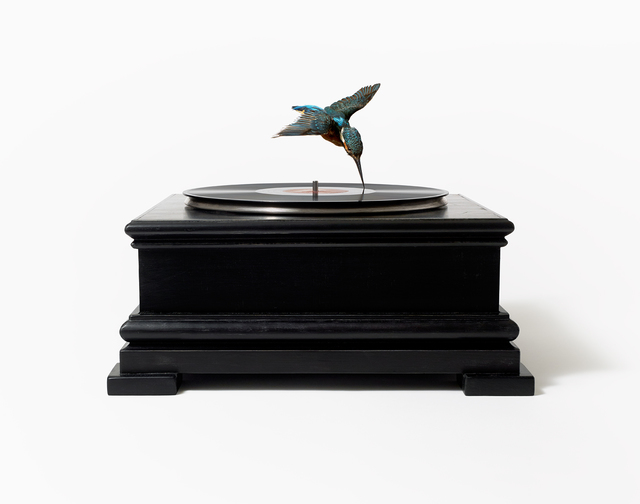 , 'Bird on Record Player,' 2012, Hang-Up Gallery