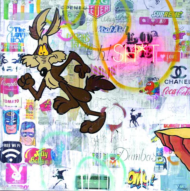 , 'Sh*t,' 2018, Galerie LeRoyer