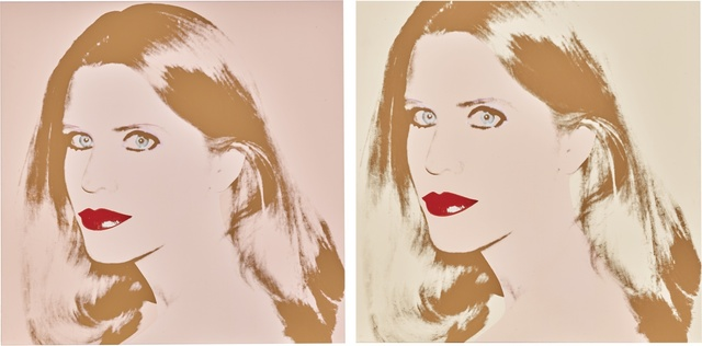 Andy Warhol, 'Nancy Glenn [Two Works]', Sotheby's