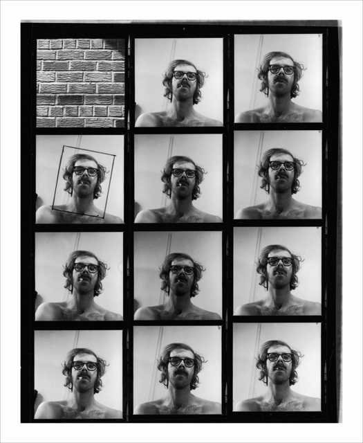 Chuck Close, 'Untitled (Self-Portrait Contact Sheet),' 1967/1999, Adamson Gallery