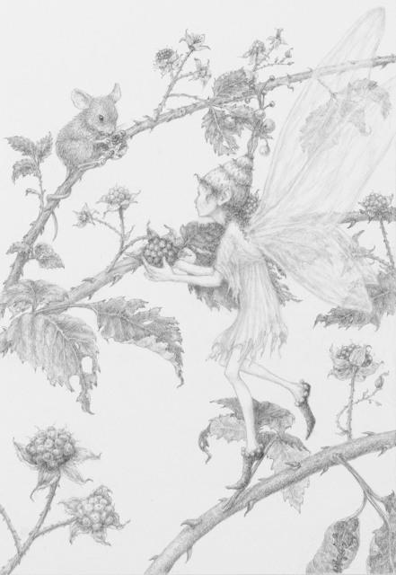 Lauren Mills, 'Berry Harvest', 2019, IX Gallery