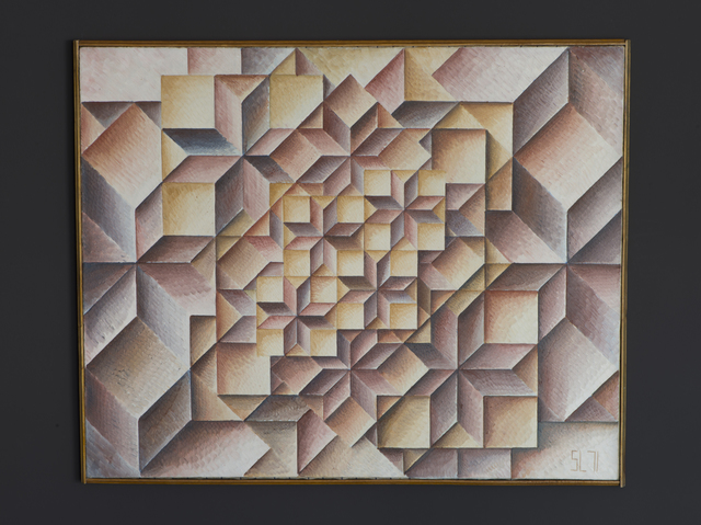, 'Geometrical Grouping 212,' 1971, Jecza Gallery