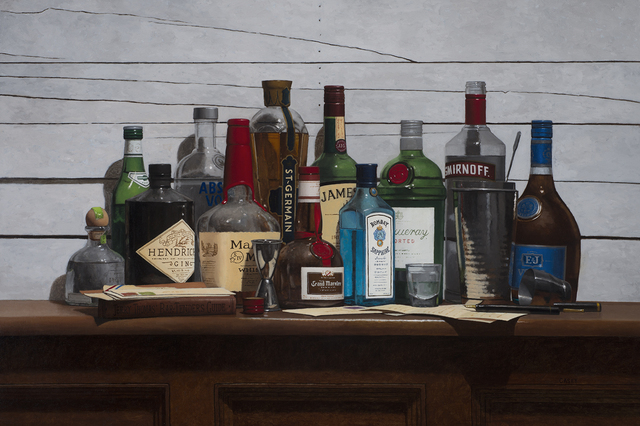, 'The Art of Mixology,' 2017, Rehs Contemporary Galleries