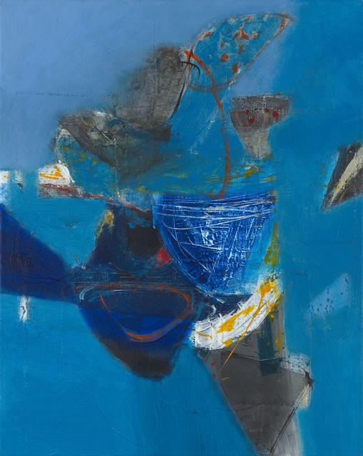 , 'Blue Shadows no.3,' 2016, Waterhouse & Dodd