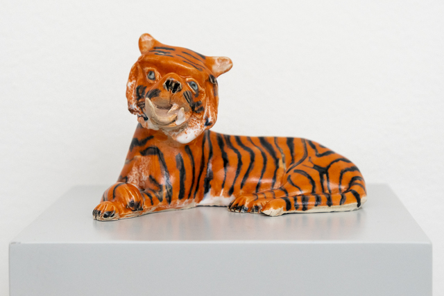 , 'Down's Syndrome Tiger,' 2017, Hans Alf Gallery