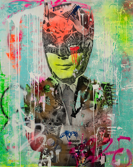 , 'Bazinga Bat,' 2015, DETOUR Gallery
