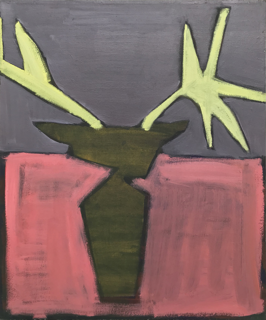 , 'The Golden Mask of a Deer. Shining Flowers on Matisse's Grave,' 2018, Galerija VARTAI