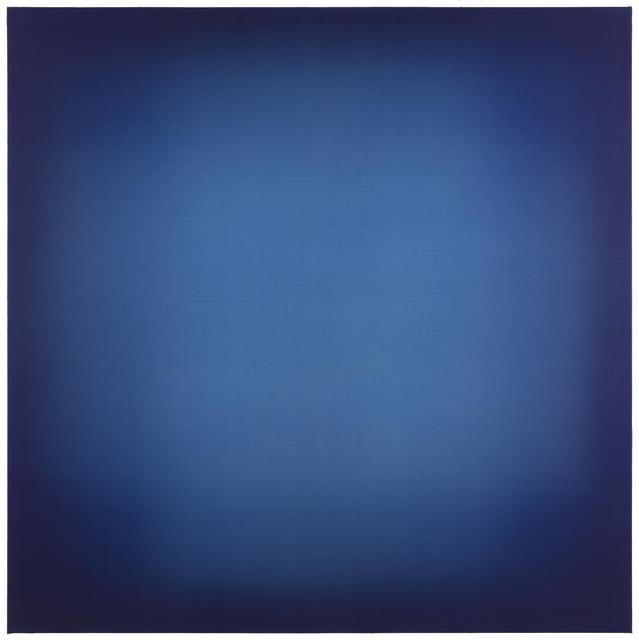 , 'Blue Crossing Blue,' 2018, Galerie Forsblom