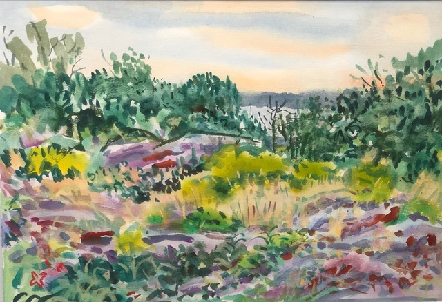 , 'August Light,' 1989, Anderson Fine Art Gallery