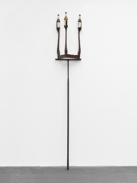 , 'Catachresis ♯58 (necks of the bottles, legs of the table, teeth of the rake, teeth of the saw, heads of the screws),' 2016, KÖNIG GALERIE