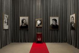 , 'Installation view: Olga Forever (Olga Picasso, bal des Beaumont, 1924), (Olga Picasso, ca. 1930), (Deconstructing Olga), (Olga Picasso, ca. 1930 III) ,' , Almine Rech Gallery