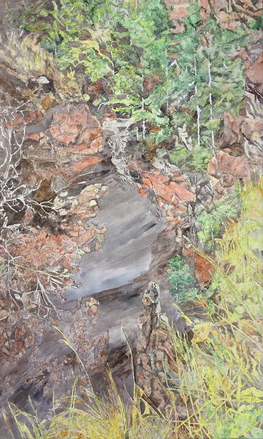 , 'Red Rock Canyon (AC-004-92),' 1992, Han Art
