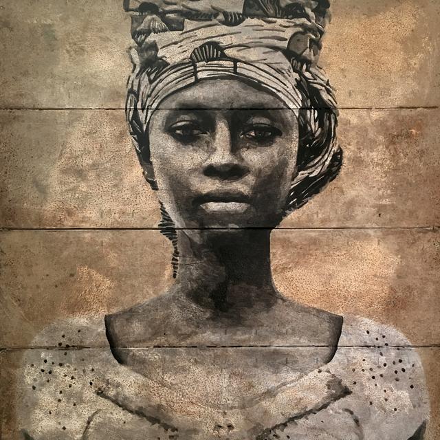 , 'Aïcha, Adjame,' 2018, LouiSimone Guirandou Gallery