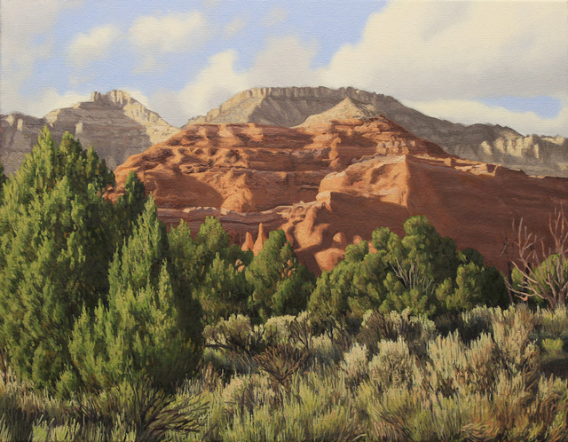 , 'Cliffs of Kodachrome Basin,' , Davis Gallery & Framing