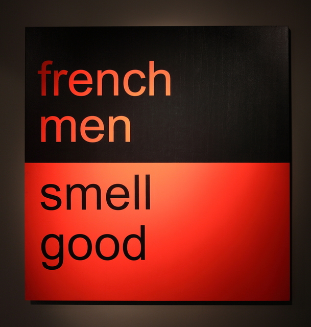 , 'French men smell good 法国男人很好闻,' 2009, Shanghai Gallery of Art