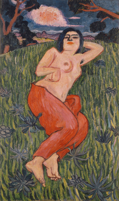 , 'Nude Beauty,' 1912, The National Museum of Modern Art, Tokyo