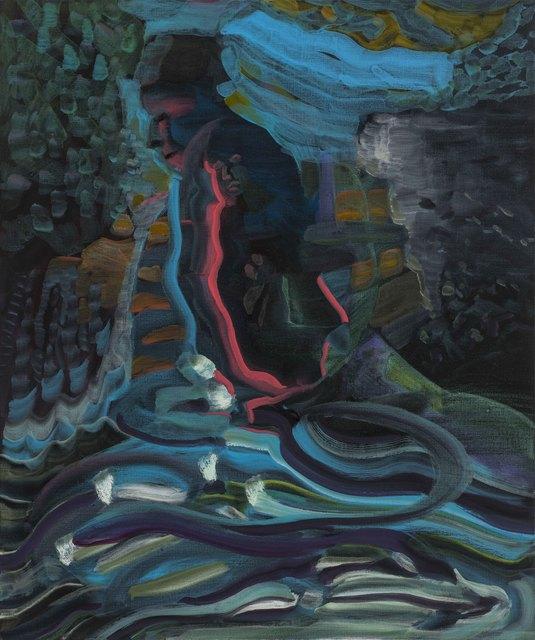 , 'Walking Home 江堤夜归人,' 2016, Chambers Fine Art