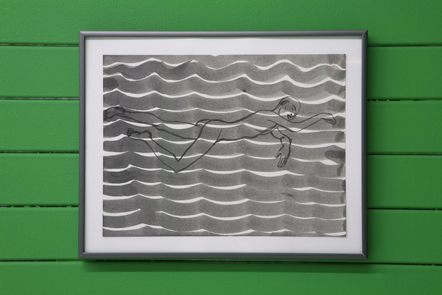 , 'Untitled (Swimmer),' 2004, Nina Johnson