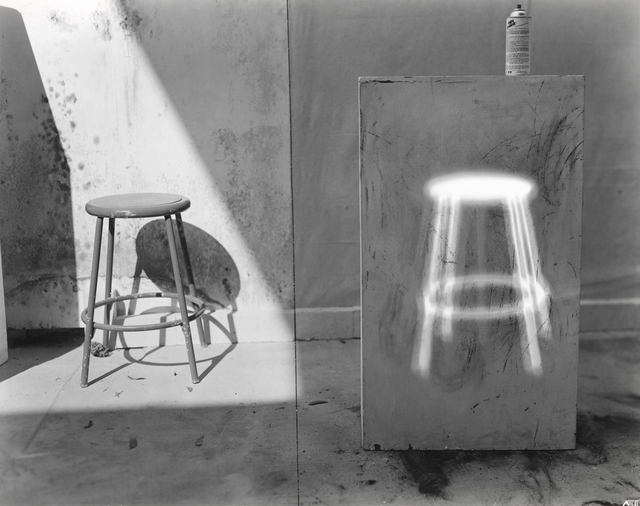 , 'Quick Shift of the Head Leaves Glowing Stool Afterimage on Pedestal,' 1978, George Eastman Museum