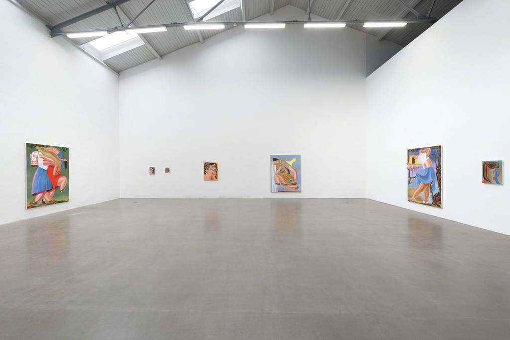 Exhibition view, Galerie EIGEN + ART Leipzig, Photo: Uwe Walter, Berlin