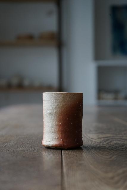 , '信楽ぐい呑 Sake-Cup (Shigaraki-Style),' , Kami ya Co., Ltd.