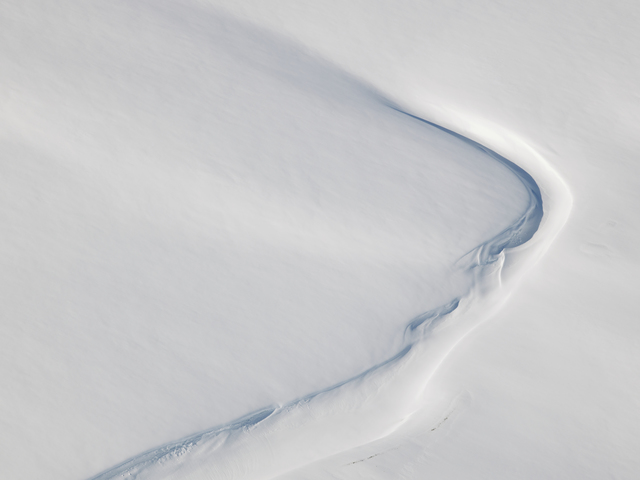 , 'Snow Patterns, Svalbard, Norway,' 2015, Marlborough Gallery