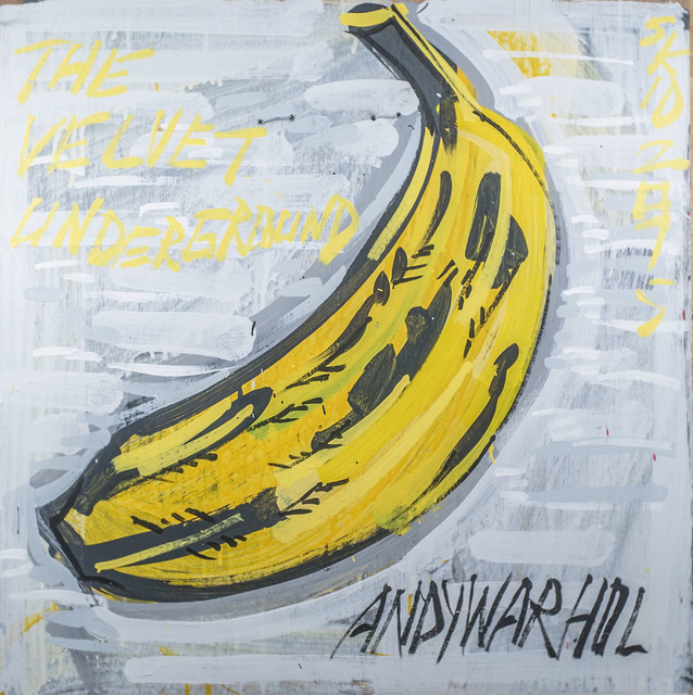 Steve Keene, 'The Velvet Underground - Andy Warhol', 2015, Subliminal Projects