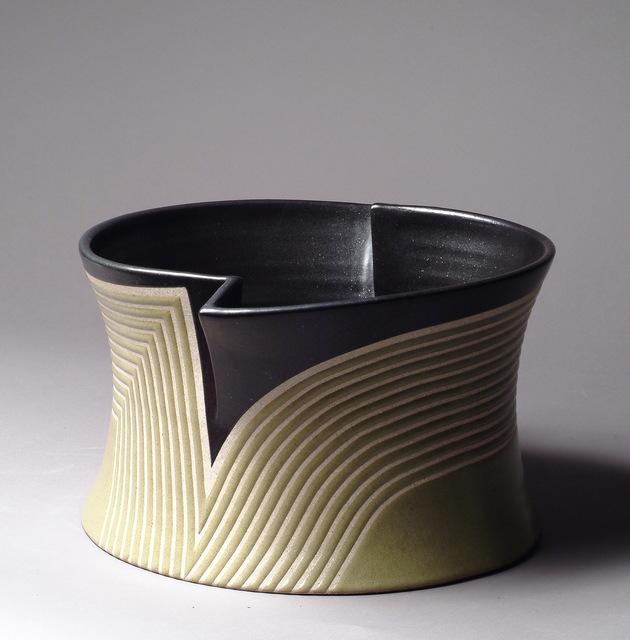 Gustavo Pérez, 'Forme ouverte 07-10', 2007, Sculpture, Glazed sandstone, Galerie Capazza