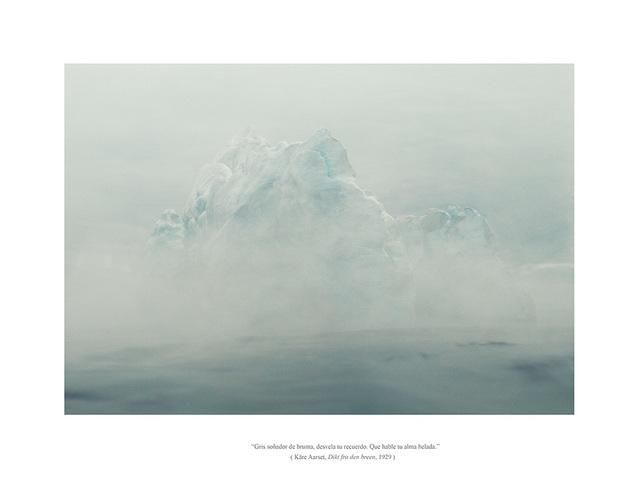 , 'Serie EOLIONIMIA  Iceberg #2,' 2013, Aural
