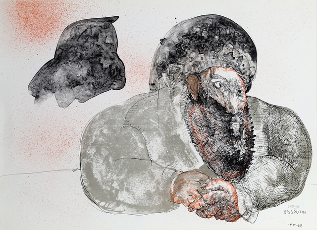 Jose Luis Cuevas, 'Dreams of Rasputin', 1968, RoGallery