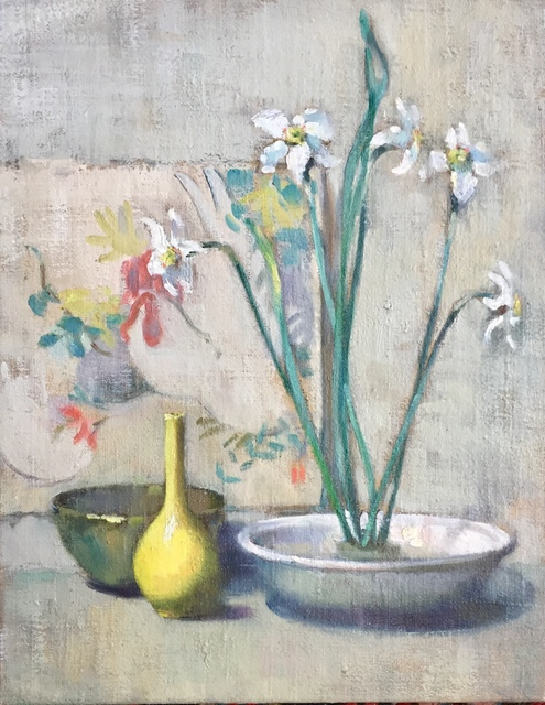 , 'Still Life With Paper Whites,' Early 20th century, Bakker Gallery