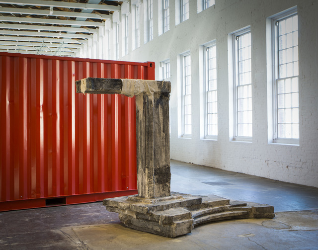 , 'Fiscal Cliff / The Time that is Beginning to End,' 2017, MASS MoCA