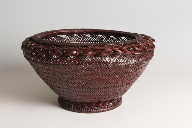 , 'Bamboo Basket (T-3689),' Shōwa era (1926–89) 1980s, Erik Thomsen
