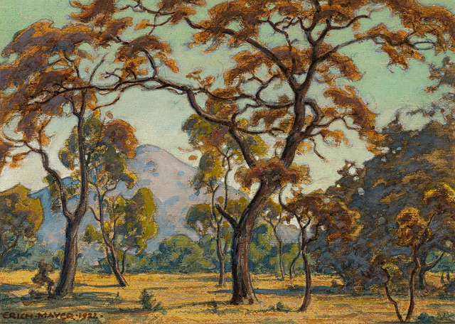 Erich Mayer, 'Landscape with Trees', 1922, Strauss & Co