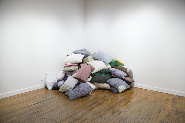 , '34,000 Pillows,' 2016 -ongoing, Human Rights Watch