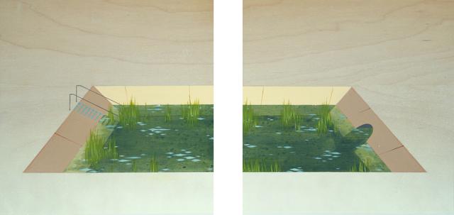 , 'Pond (diptych),' 2014, Zevitas Marcus