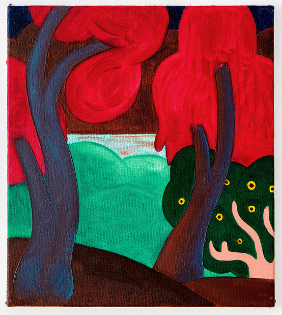 , 'Untitled (Red Trees),' 2017, Projet Pangée