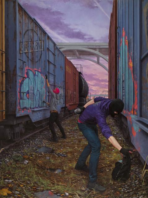 , 'Crossing Lines,' 2018, Gallery Poulsen