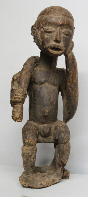 Unknown Lobi, 'Lobi Burkina Faso Seated Male Figure', Early 20th Century, Bill Lowe Gallery