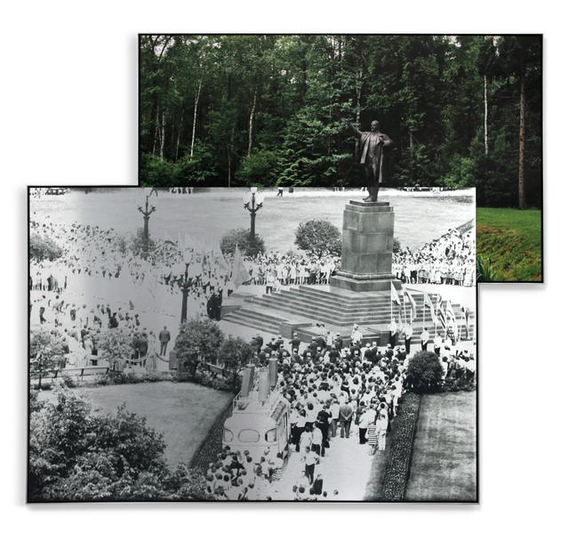 , 'Pedestal, Summer Crowd,' 2017, Parafin