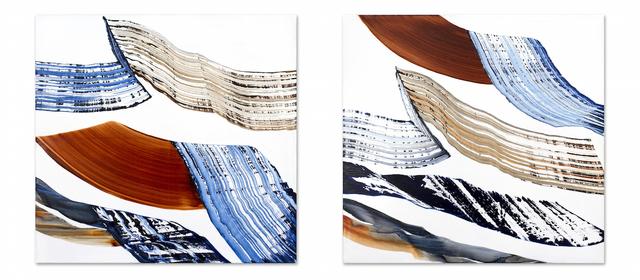 , 'Bhutan PF28 & Bhutan PF29,' 2016, Sundaram Tagore Gallery