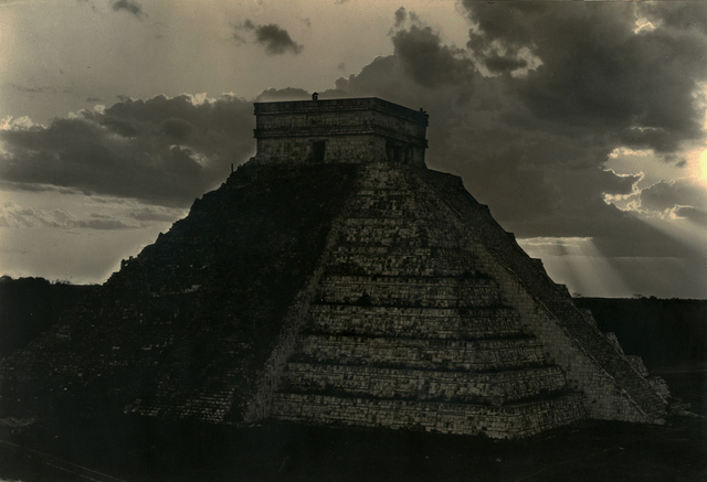 , 'Castillo at Sunset, Chichen Itzá1932,' ca. 1932, Charles Isaacs Photographs, Inc