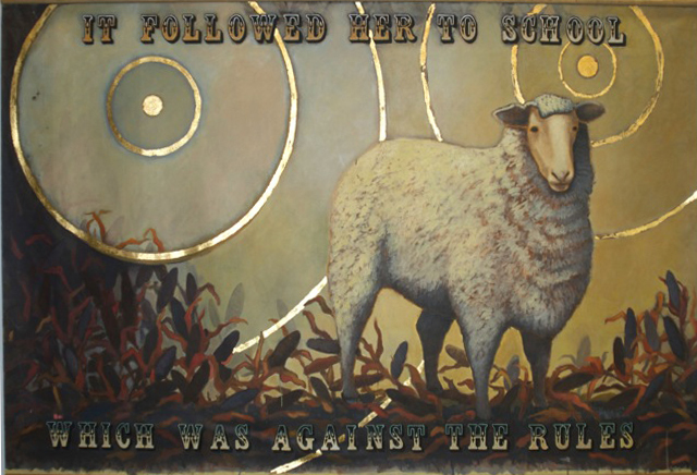 , 'Mary Was a Little Lamb,' 2015, Porch Gallery