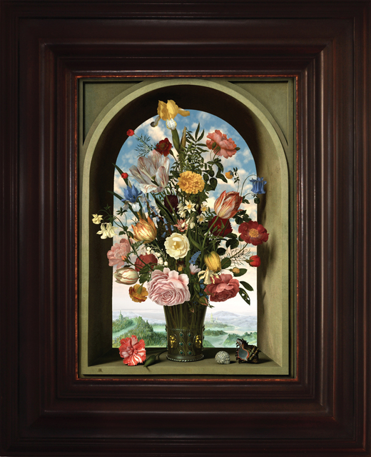 , 'Transforming Still Life Painting (after Ambrosius Bosschaert the Elder),' 2009, Virginia Museum of Contemporary Art